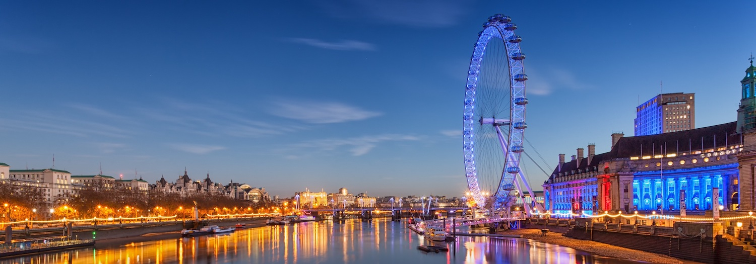London eye background